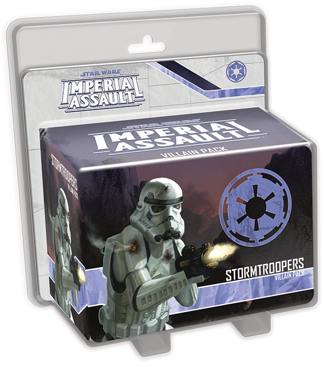 Star Wars Imperial Assault: Stormtroopers Villain Pack Box Front
