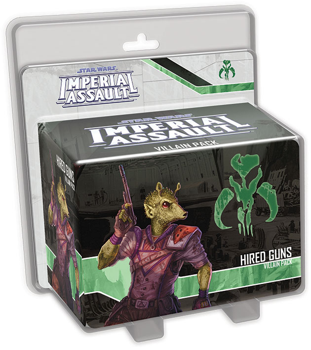 Star Wars Imperial Assault: Hired Guns Villain Pack Box Front