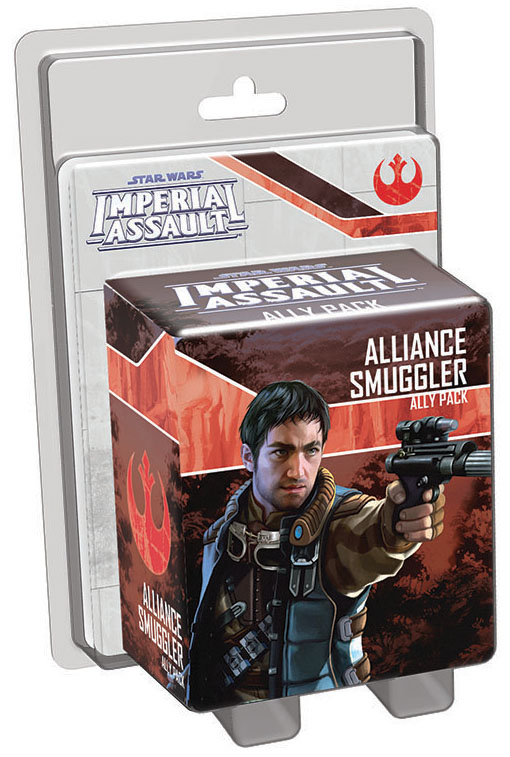 Star Wars Imperial Assault: Alliance Smuggler Ally Pack Box Front