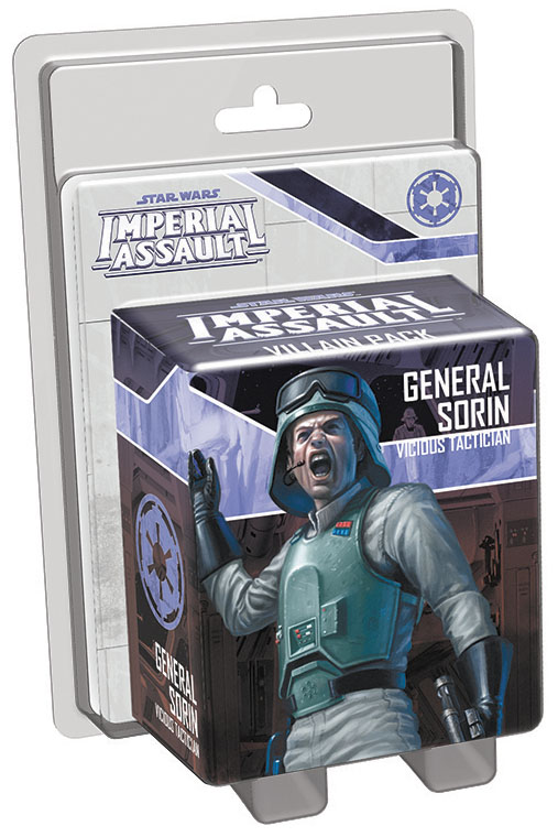 Star Wars Imperial Assault: General Sorin Villain Pack Box Front