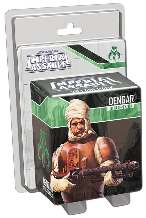 Star Wars Imperial Assault: Dengar Villain Pack Box Front