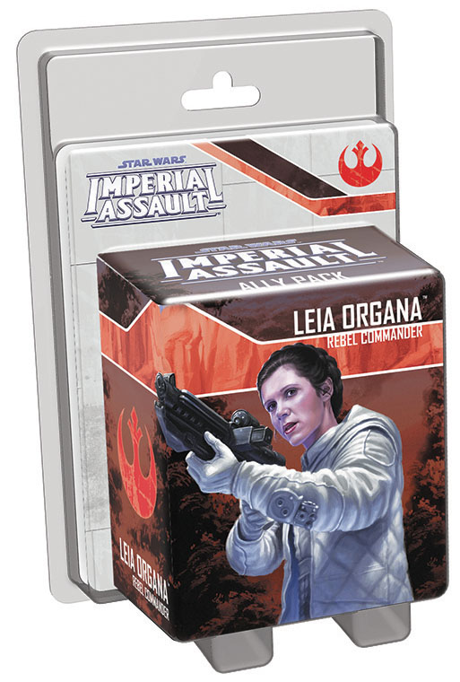 Star Wars Imperial Assault: Leia Organa Ally Pack Box Front