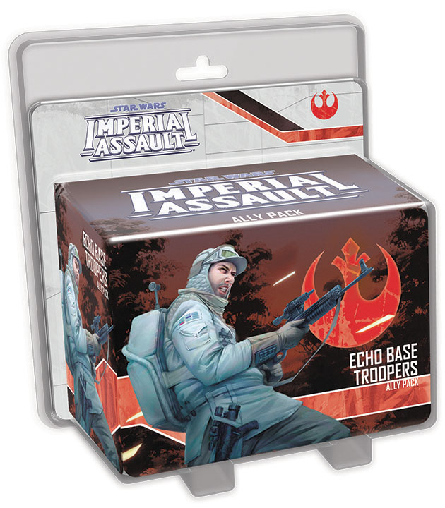 Star Wars Imperial Assault: Echo Base Troopers Ally Pack Box Front