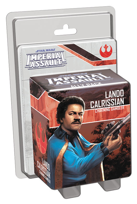 Star Wars Imperial Assault: Lando Calrissian Ally Pack Box Front