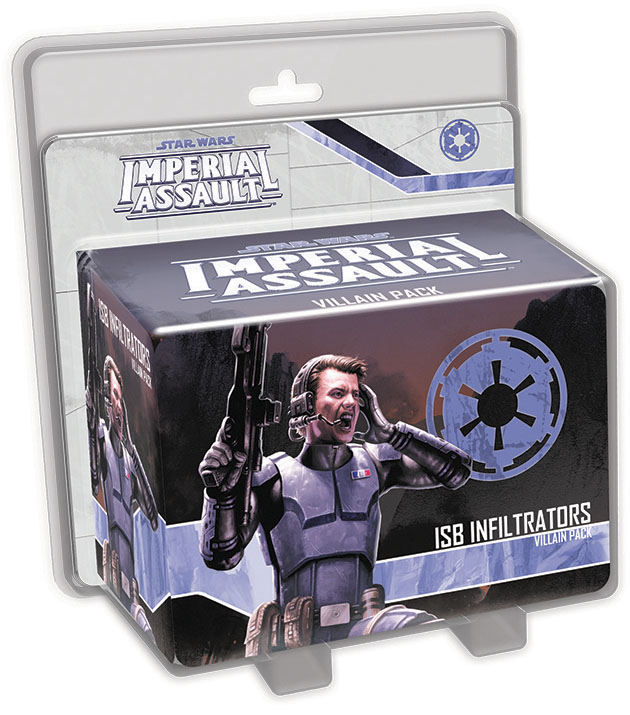 Star Wars Imperial Assault: Isb Infiltrators Villain Pack Box Front