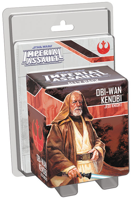 Star Wars Imperial Assault: Obi-wan Kenobi Ally Pack Box Front