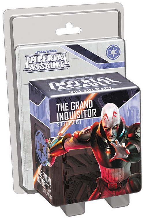 Star Wars Imperial Assault: The Grand Inquisitor Villain Pack Box Front