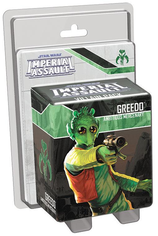 Star Wars Imperial Assault: Greedo Villain Pack Box Front