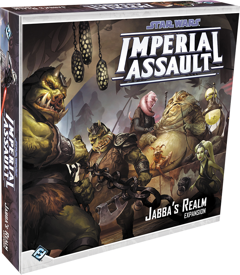 Star Wars Imperial Assault: Jabba`s Realm Campaign Expansion Box Front