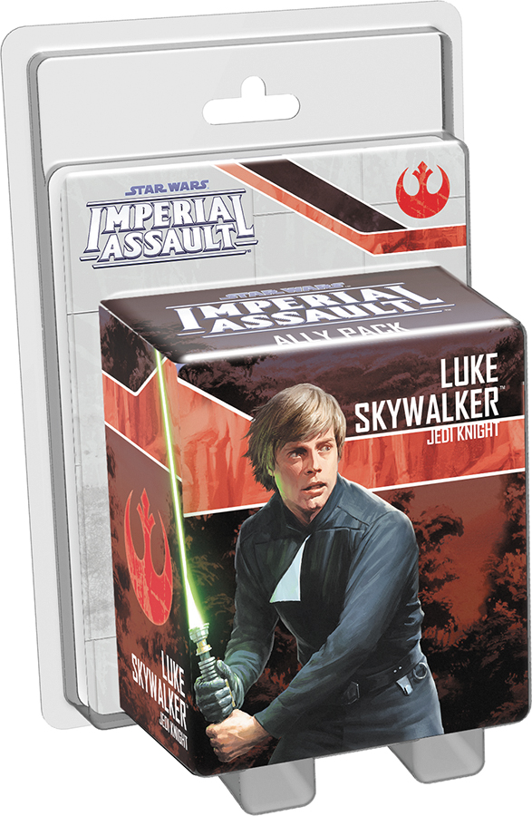Star Wars Imperial Assault: Luke Skywalker - Jedi Knight Ally Pack Box Front