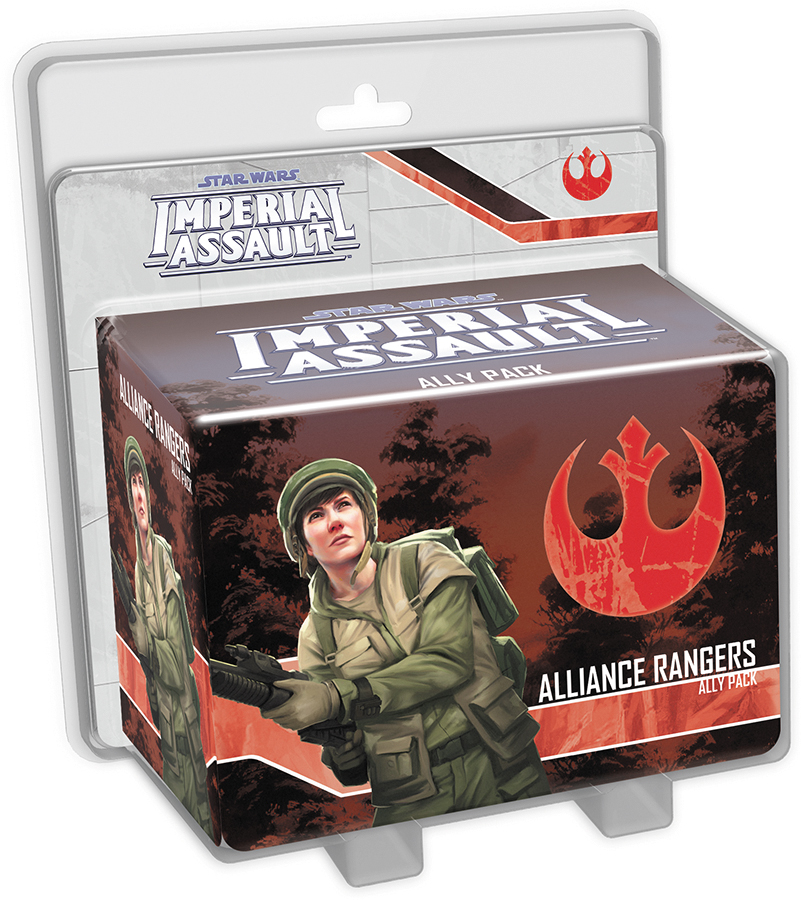 Star Wars Imperial Assault: Alliance Rangers Ally Pack Box Front