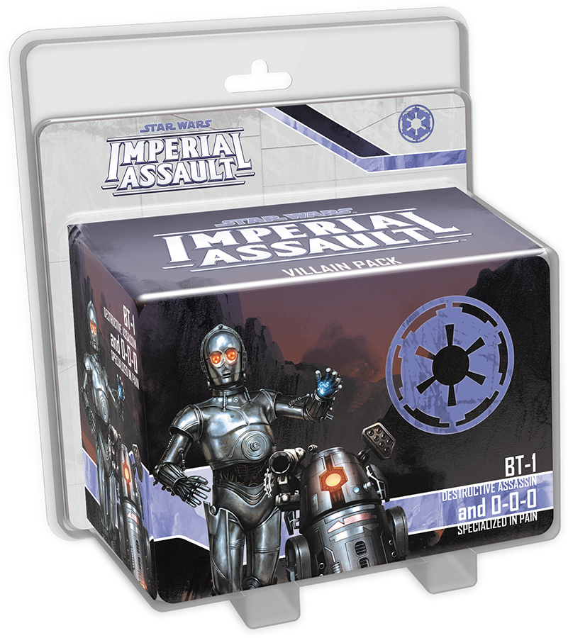 Star Wars Imperial Assault: Bt-1 And 0-0-0 Villain Pack Box Front
