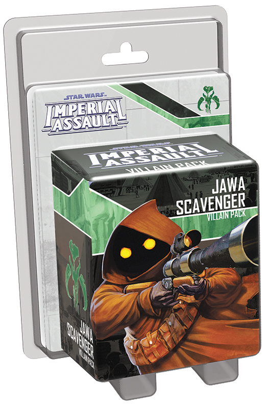 Star Wars Imperial Assault: Jawa Scavenger Villain Pack Box Front