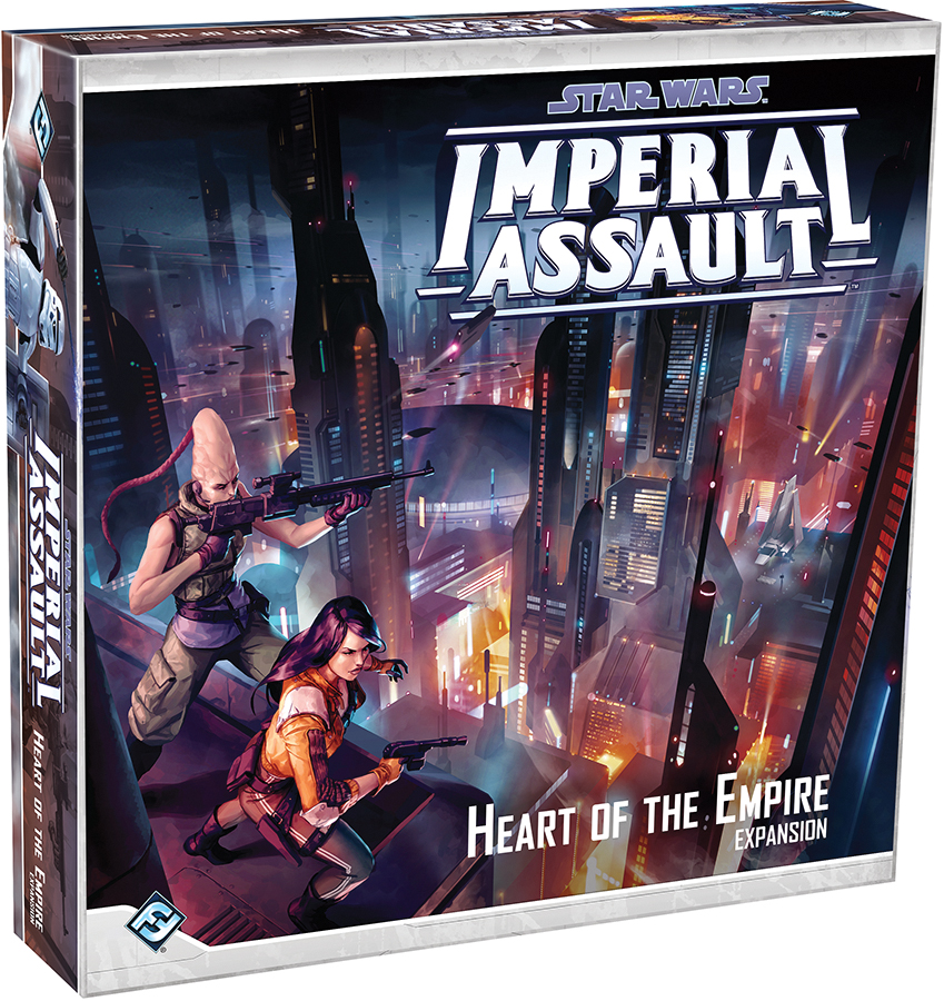 Star Wars Imperial Assault: Heart Of The Empire Campaign Expansion Box Front