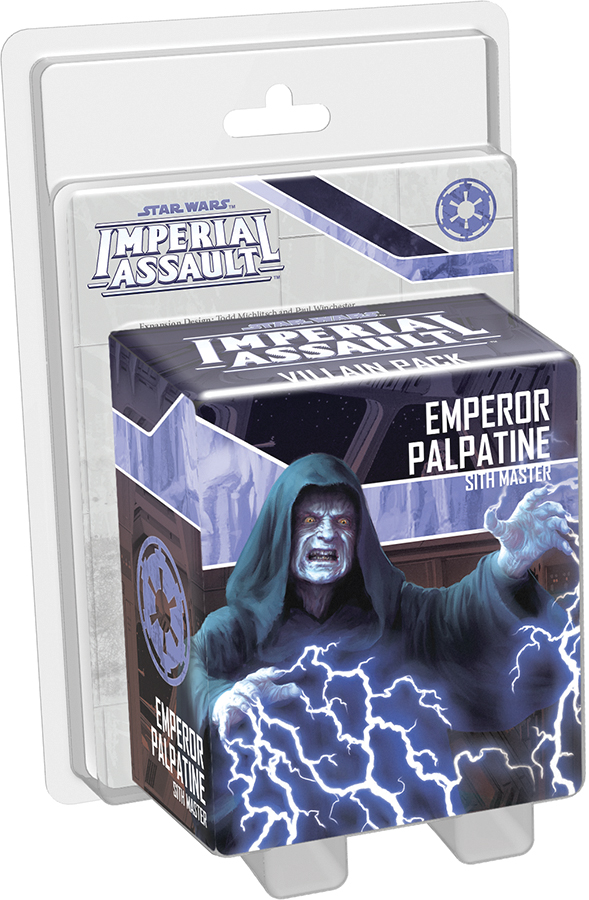 Star Wars Imperial Assault: Emperor Palpatine Villain Pack Box Front