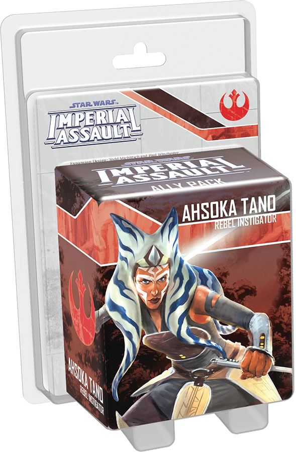 Star Wars Imperial Assault: Ahsoka Tano Ally Pack Box Front