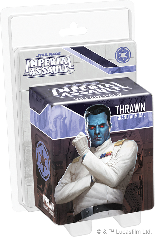Star Wars Imperial Assault: Thrawn Villain Pack Box Front