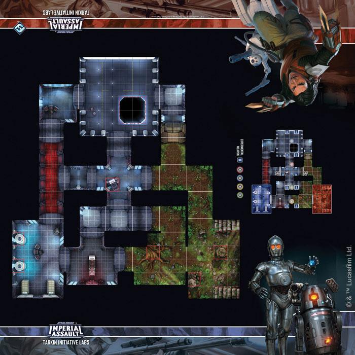 Star Wars Imperial Assault: Skirmish Map - Tarkin Initiative Labs Game Box