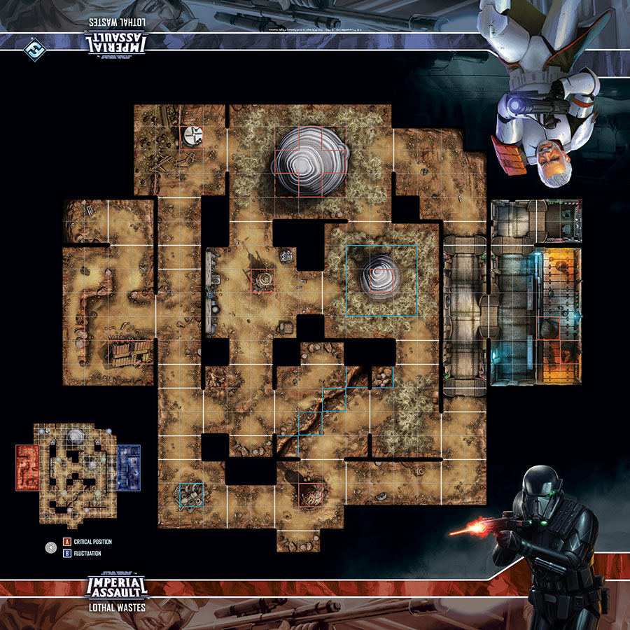 Star Wars Imperial Assault: Skirmish Map - Lothal Wastes Game Box