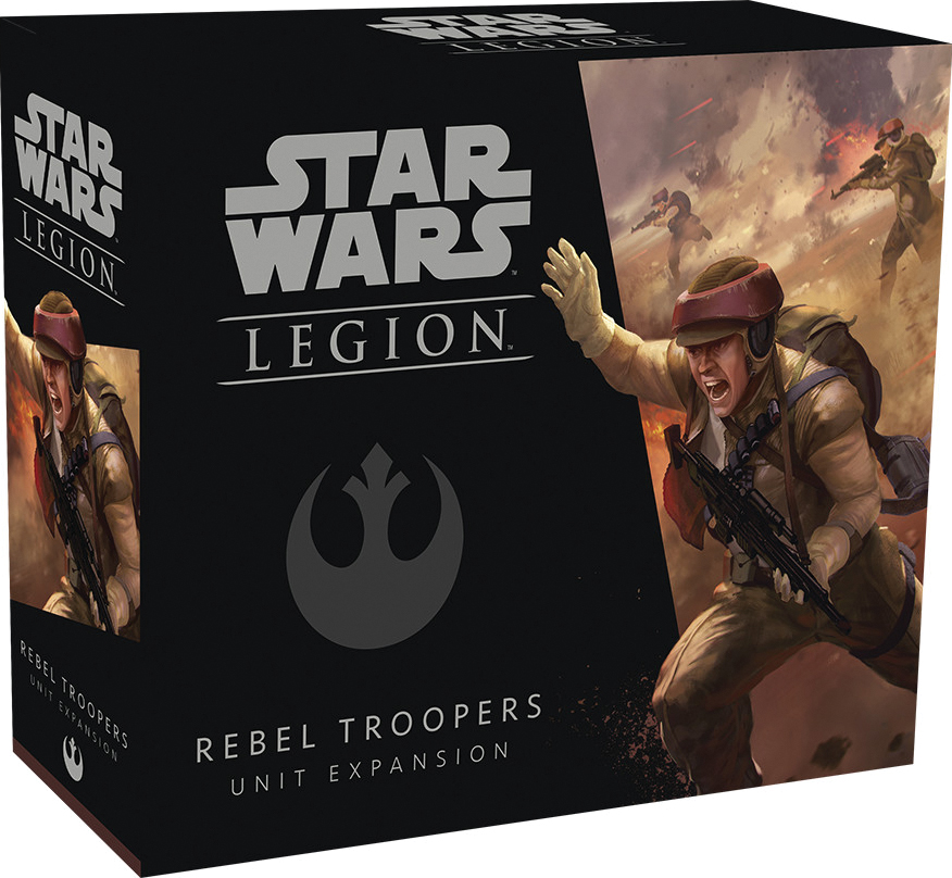 Star Wars: Legion - Rebel Troopers Unit Expansion Box Front