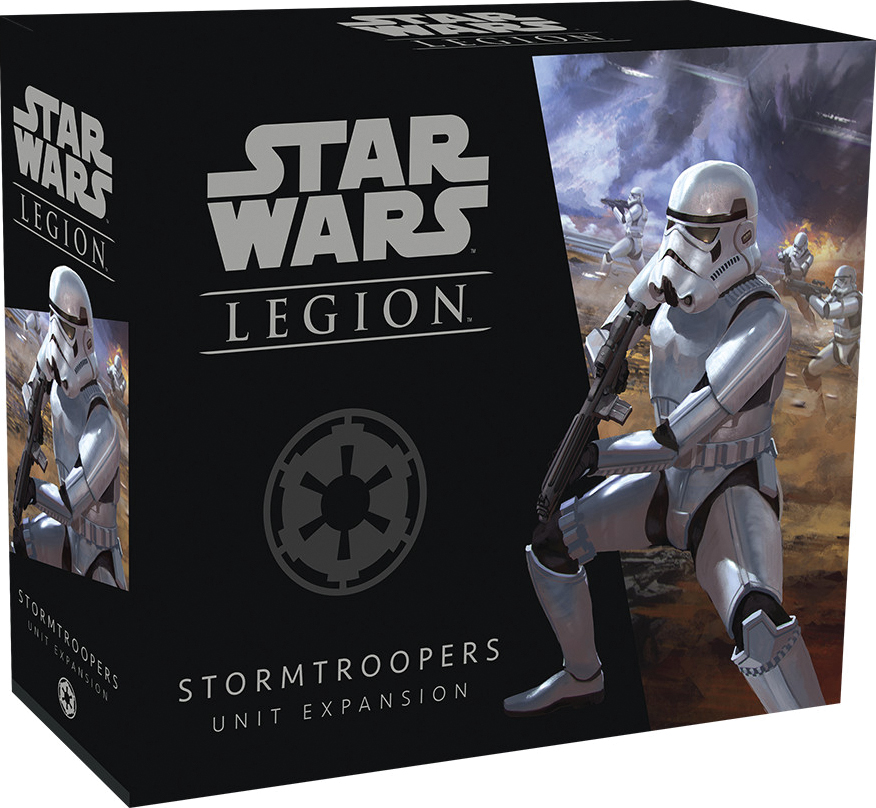 Star Wars: Legion - Stormtroopers Unit Expansion Box Front