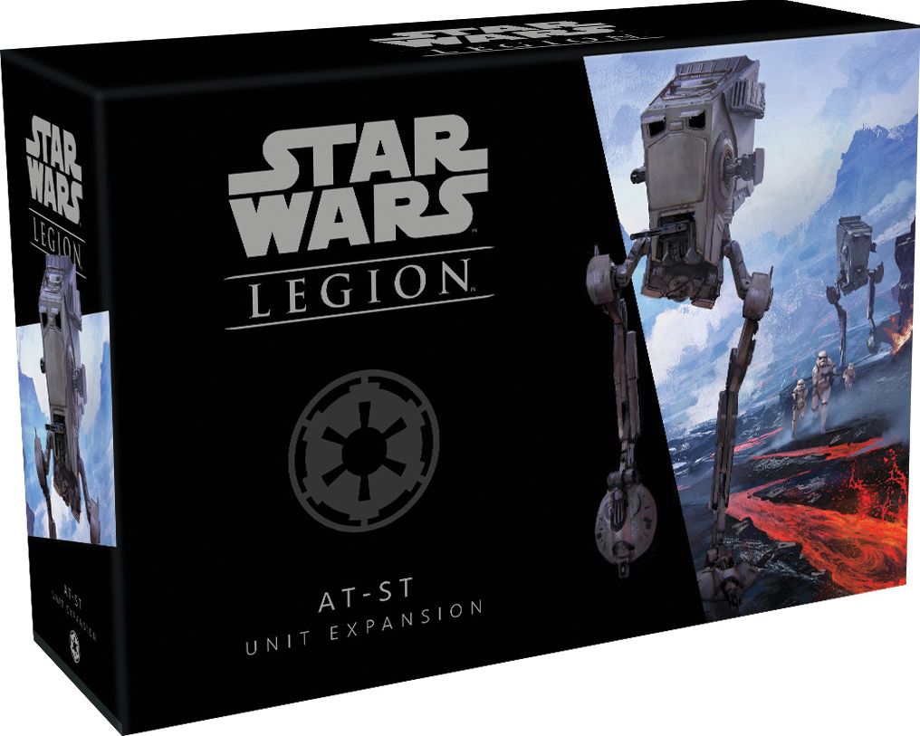 Star Wars: Legion - At-st Unit Expansion Box Front