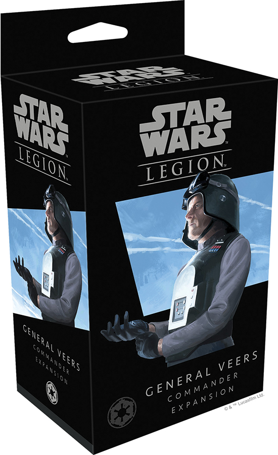 Star Wars: Legion - General Veers Commander Expansion Box Front