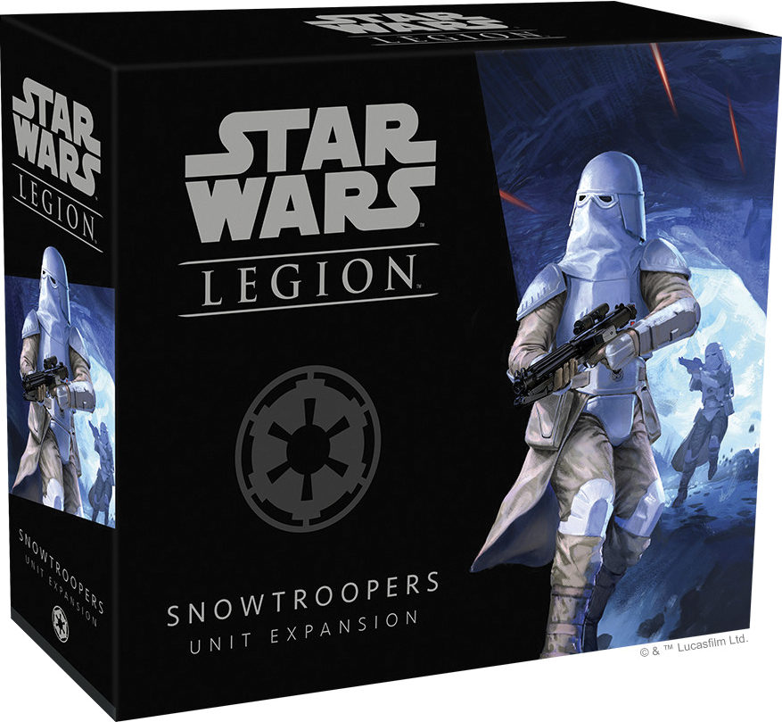 Star Wars: Legion - Snowtroopers Unit Expansion Box Front