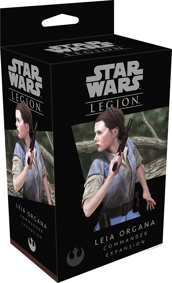 Star Wars: Legion - Princess Leia Organa Commander Expansion Box Front