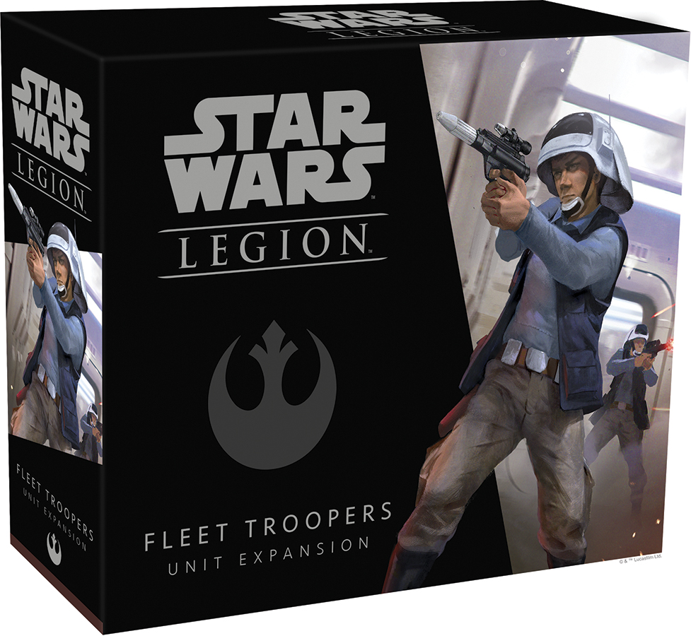 Star Wars: Legion - Fleet Troopers Unit Expansion Box Front