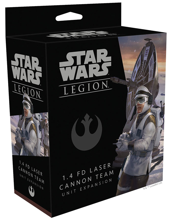 Star Wars: Legion - 1.4 Fd Laser Cannon Team Unit Expansion Game Box