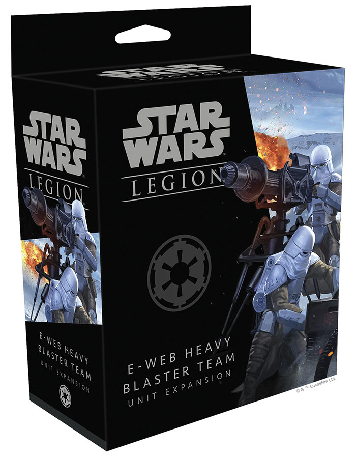 Star Wars: Legion - E-web Heavy Blaster Team Unit Expansion Game Box
