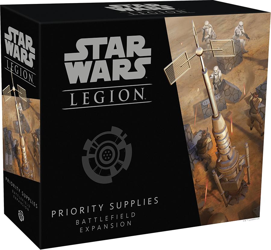 Star Wars: Legion - Priority Supplies Battlefield Expansion Box Front