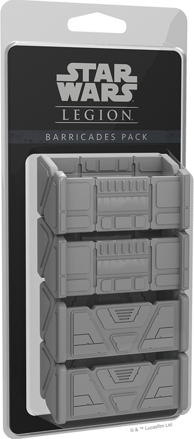 Star Wars: Legion - Barricades Pack Box Front