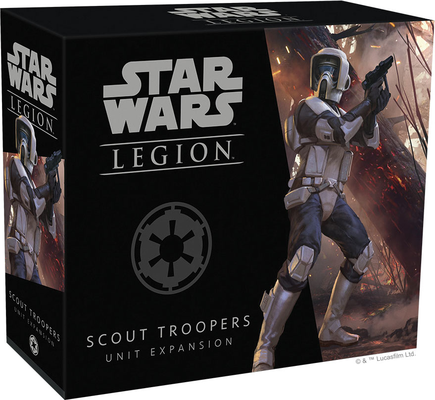 Star Wars: Legion - Scout Troopers Unit Expansion Box Front