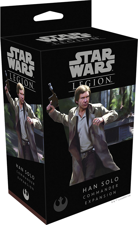 Star Wars: Legion - Han Solo Commander Expansion Box Front