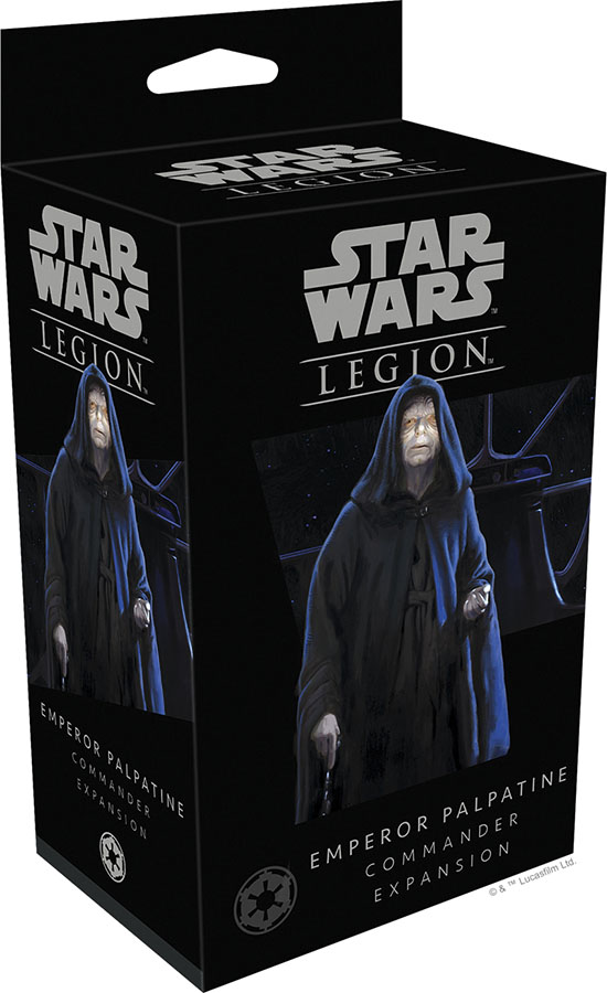 Star Wars: Legion - Emperor Palpatine Commander Expansion Game Box