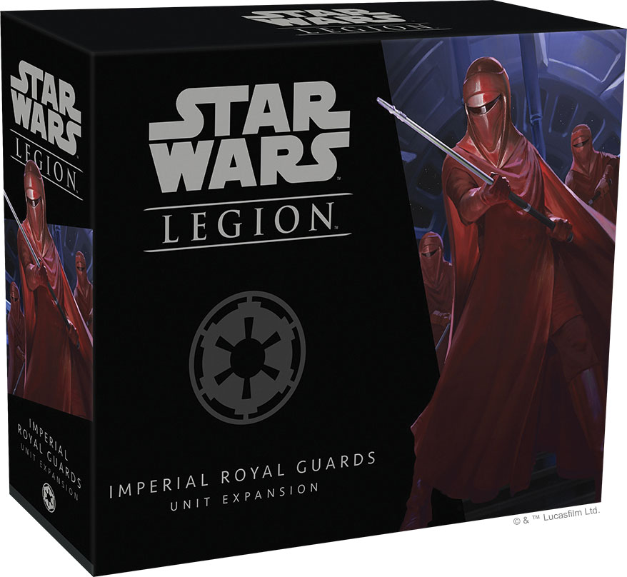 Star Wars: Legion - Imperial Royal Guards Unit Expansion Game Box