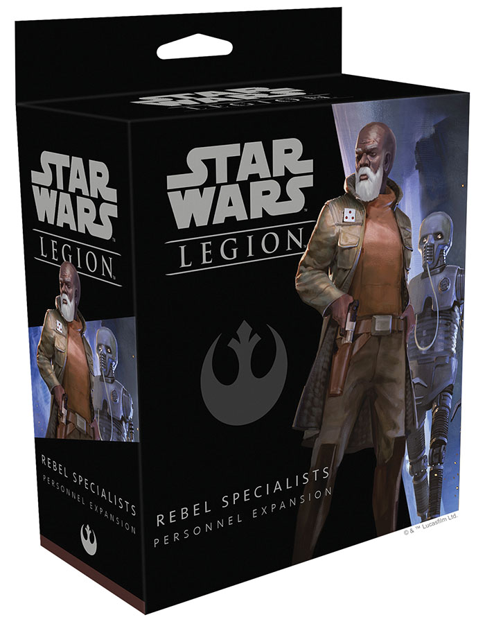 Star Wars: Legion - Rebel Specialists Personnel Expansion Game Box