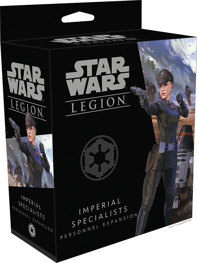 Star Wars: Legion - Imperial Specialists Personnel Expansion Game Box