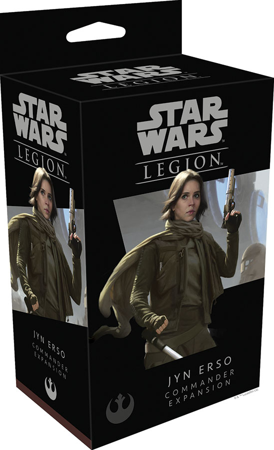 Star Wars: Legion - Jyn Erso Commander Expansion Game Box