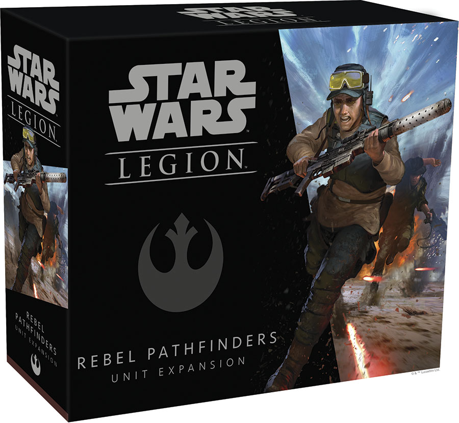 Star Wars: Legion - Rebel Pathfinders Unit Expansion Game Box