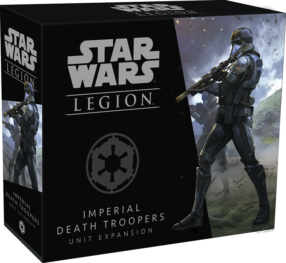 Star Wars: Legion - Imperial Death Troopers Unit Expansion Game Box