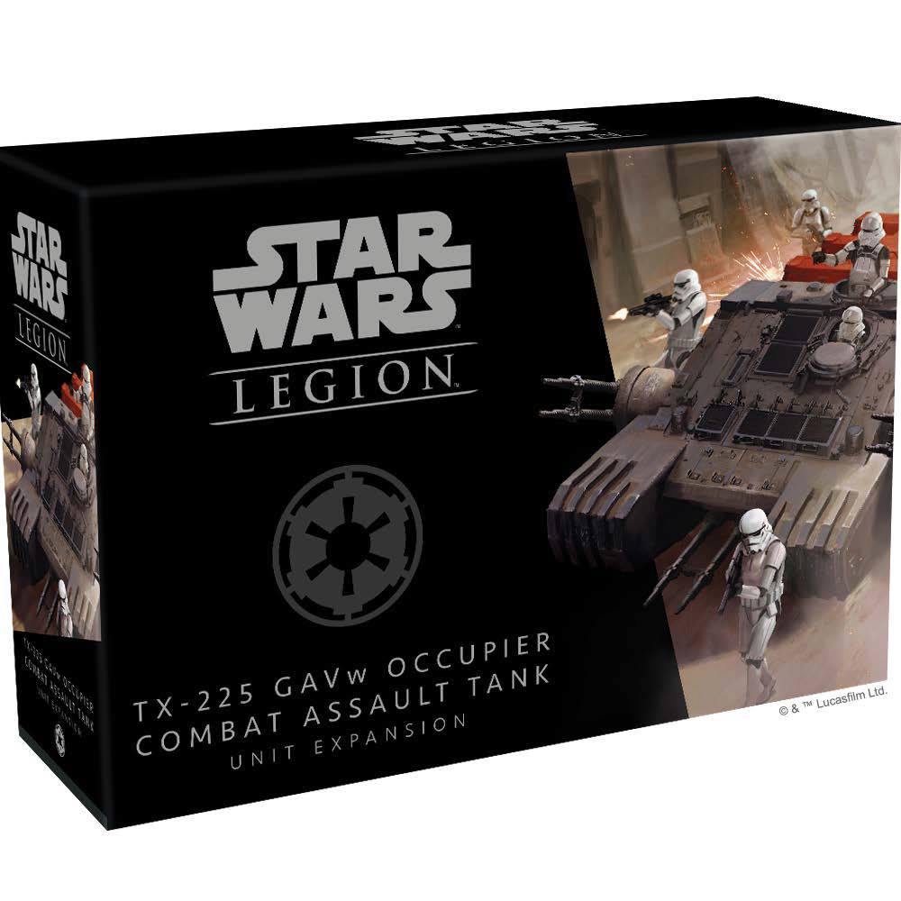 Star Wars: Legion - Tx-225 Gavw Occupier Combat Assault Tank Unit Expansion Game Box