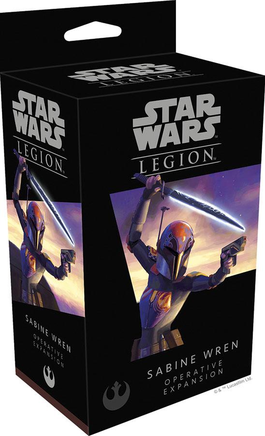 Star Wars: Legion - Sabine Wren Operative Expansion Game Box