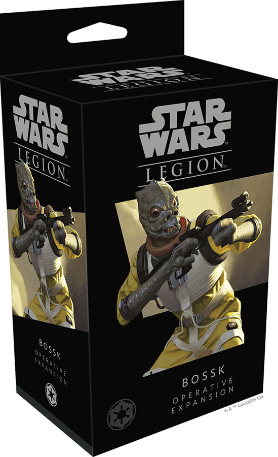 Star Wars: Legion - Bossk Operative Expansion Game Box
