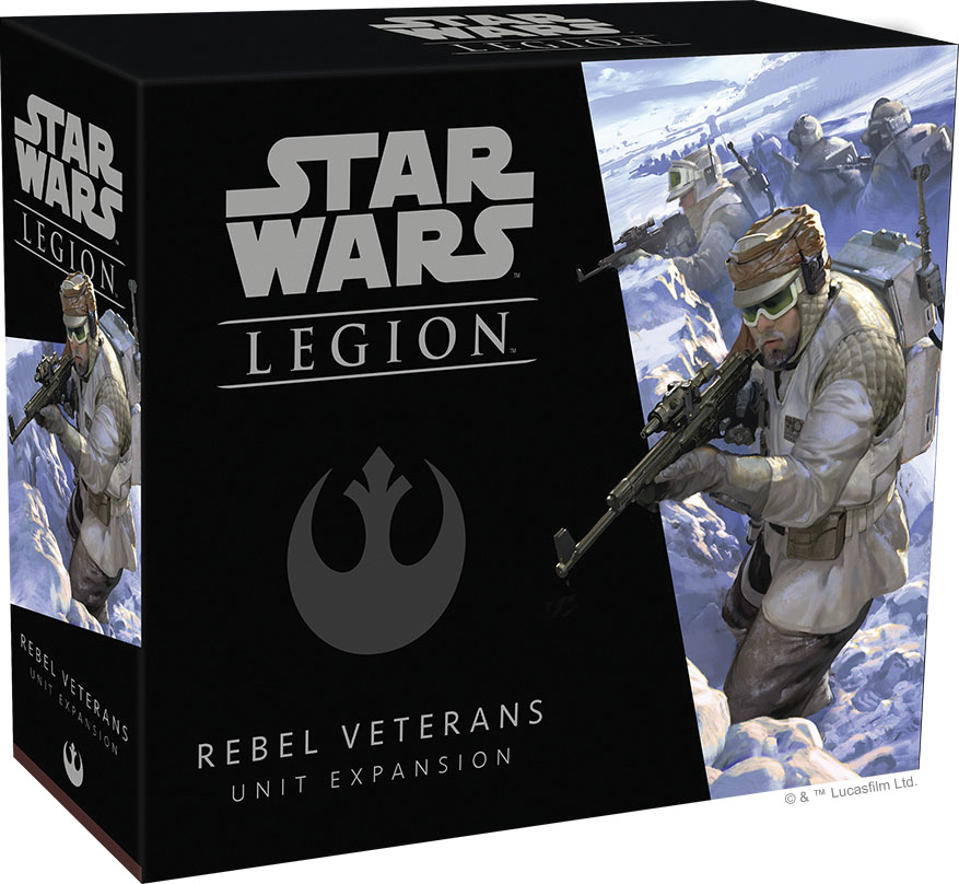 Star Wars: Legion - Rebel Veterans Unit Expansion Game Box