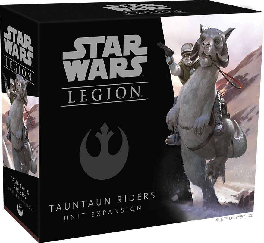 Star Wars: Legion - Tauntaun Riders Unit Expansion Game Box