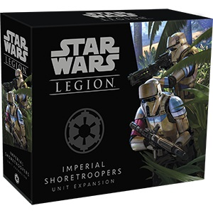Star Wars: Legion - Imperial Shoretroopers Unit Expansion Game Box