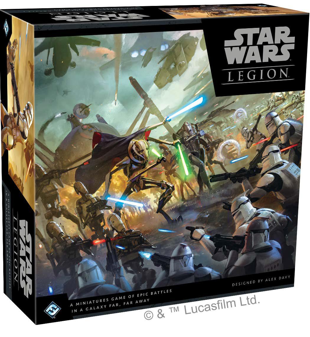 Star Wars: Legion - Clone Wars Core Set Game Box